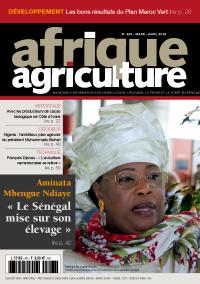Afrique Agriculture 423 de mars/avril 2018