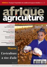 Afrique Agriculture 427 de novembre/décembre 2018