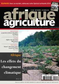 Afrique Agriculture 426 de septembre/octobre 2018