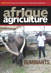 Supplément ruminants d'Afrique Agriculture 426 de septembre/octobre 2018