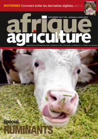 Supplément ruminants Afrique agriculture 432 septembre-octobre 2019