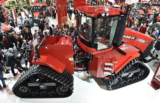 Le Sima est l'occasion de voir des machines parmi les plus grosses de la planète. Photo : Sima