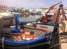 95 % de la production halieutique marocaine est assurée par 1800bateaux de pêche côtière et 14000 barques artisanales, comme ici à Essaouira. Photo: Antoine Hervé