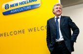 Carlo Lambro, président de New Holland Agriculture. Photo: New Holland
